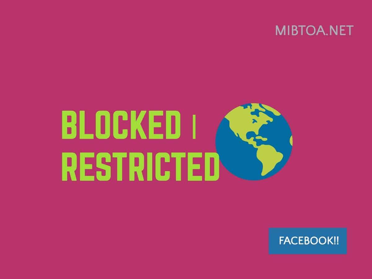 facebook blocked restricted list